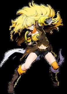 Yang Xiao Long (BlazBlue Cross Tag Battle, Character Select Artwork)
