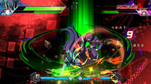 BBTAG character gameplay screenshot of Yūki Terumi (Takehaya Susanoo) 00003