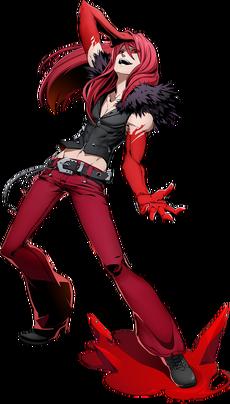 Carmine Prime (BlazBlue Cross Tag Battle, Character Select Artwork)