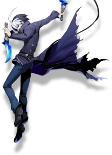 Seth the Assassin (BlazBlue Cross Tag Battle, Character Select Artwork)