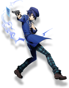 Naoto Shirogane (BlazBlue Cross Tag Battle, Character Select Artwork)