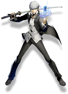 Yu Narukami (BlazBlue Cross Tag Battle, Character Select Artwork)