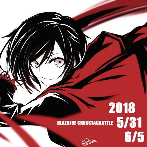 Ilustration of Ruby Rose by Mori