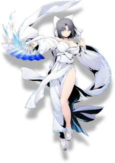 Yumi (BlazBlue Cross Tag Battle, Character Select Artwork)