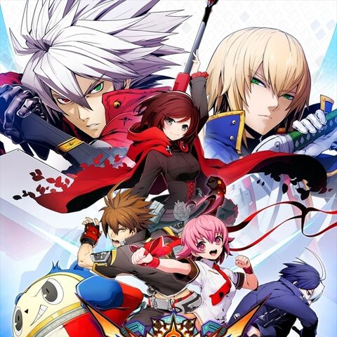 <i>BlazBlue: Cross Tag Battle</i> arcade poster