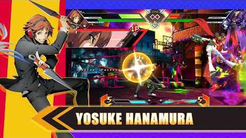 BlazBlue Cross Tag Battle Persona 4 Arena Highlight Trailer