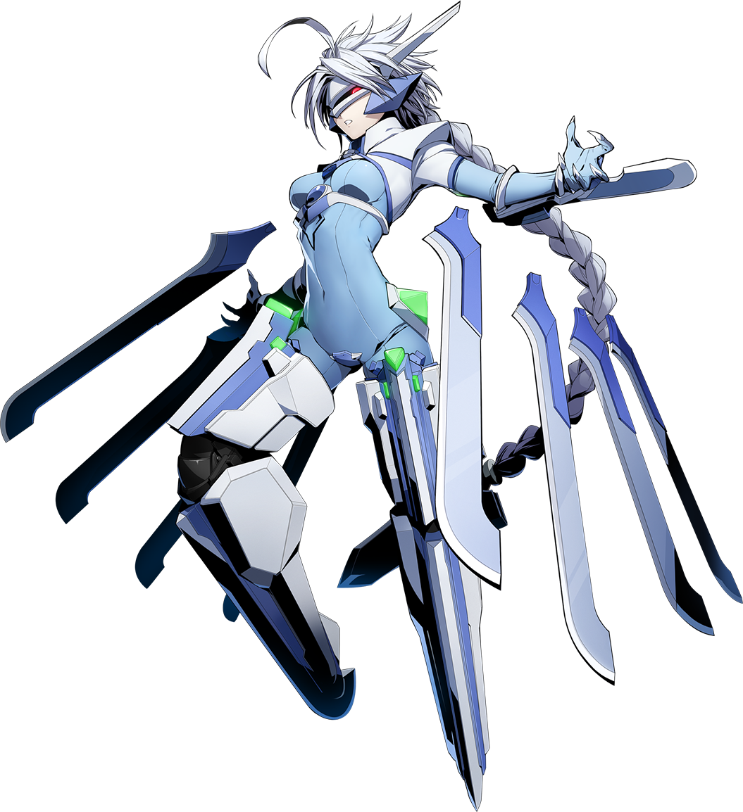 5e354d1c Nu-13 (BlazBlue Cross Tag Battle, Character Select Artwork)