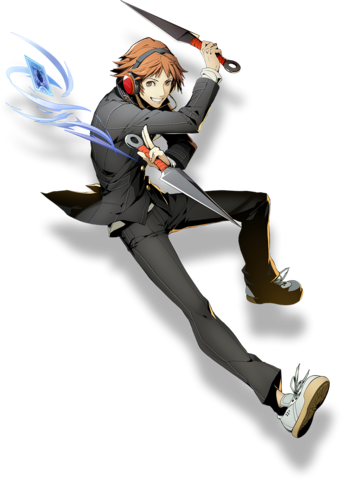 File:Yosuke Hanamura (BlazBlue Cross Tag Battle, Character Select Artwork).png