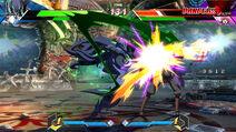 BBTAG character gameplay screenshot of Yūki Terumi (Takehaya Susanoo) 00001
