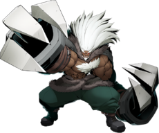 Waldstein (BlazBlue Cross Tag Battle, Character Select Artwork)