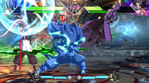 BBTAG character gameplay screenshot of Yūki Terumi (Takehaya Susanoo) 00002