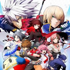 BlazBlue: Cross Tag Battle Special Edition poster (missing Akatsuki)