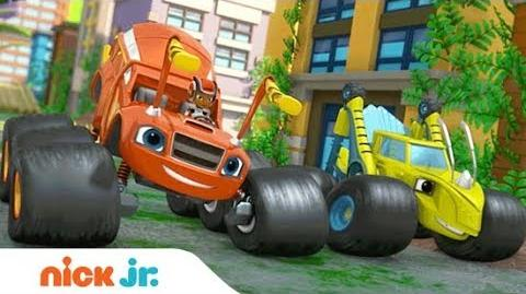 'Wild Wheels Adventures' Special Premieres Sept. 26th! Blaze and the Monster Machines Nick Jr.