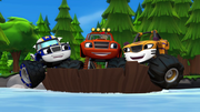 "S1E1-2 Blaze and friends ""Our boat has the power to float"""