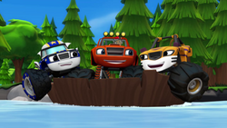 """S1E1-2 Blaze and friends """"Our boat has the power to float"""""""