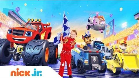 PAW Patrol & Blaze The Fast & the Furriest Fridays in April @ 12pm Nick Jr.