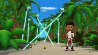 S1E19 AJ encounters laser bugs