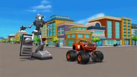 S1E3 Blaze sees the bigfoot robot