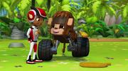 S1E6 Monkey thanking AJ