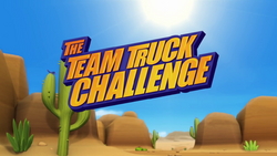 The Team Truck Challenge title card