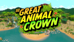 The Great Animal Crown title card