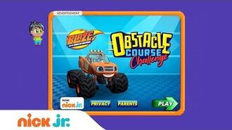 Blaze and the Monster Machines 'Obstacle Course Challenge' Game Walkthrough Nick Jr. Games (AD)