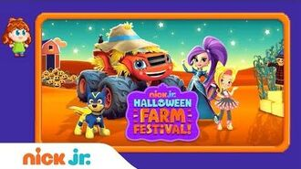 🎃 'Halloween Farm Festival' Game Walkthrough ft. PAW Patrol, Blaze, & Sunny Day Nick Jr. Gamers