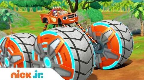 New Blaze Power Tires Full Episode Coming Oct. 16th 👀 Sneak Peek Blaze & the Monster Machines
