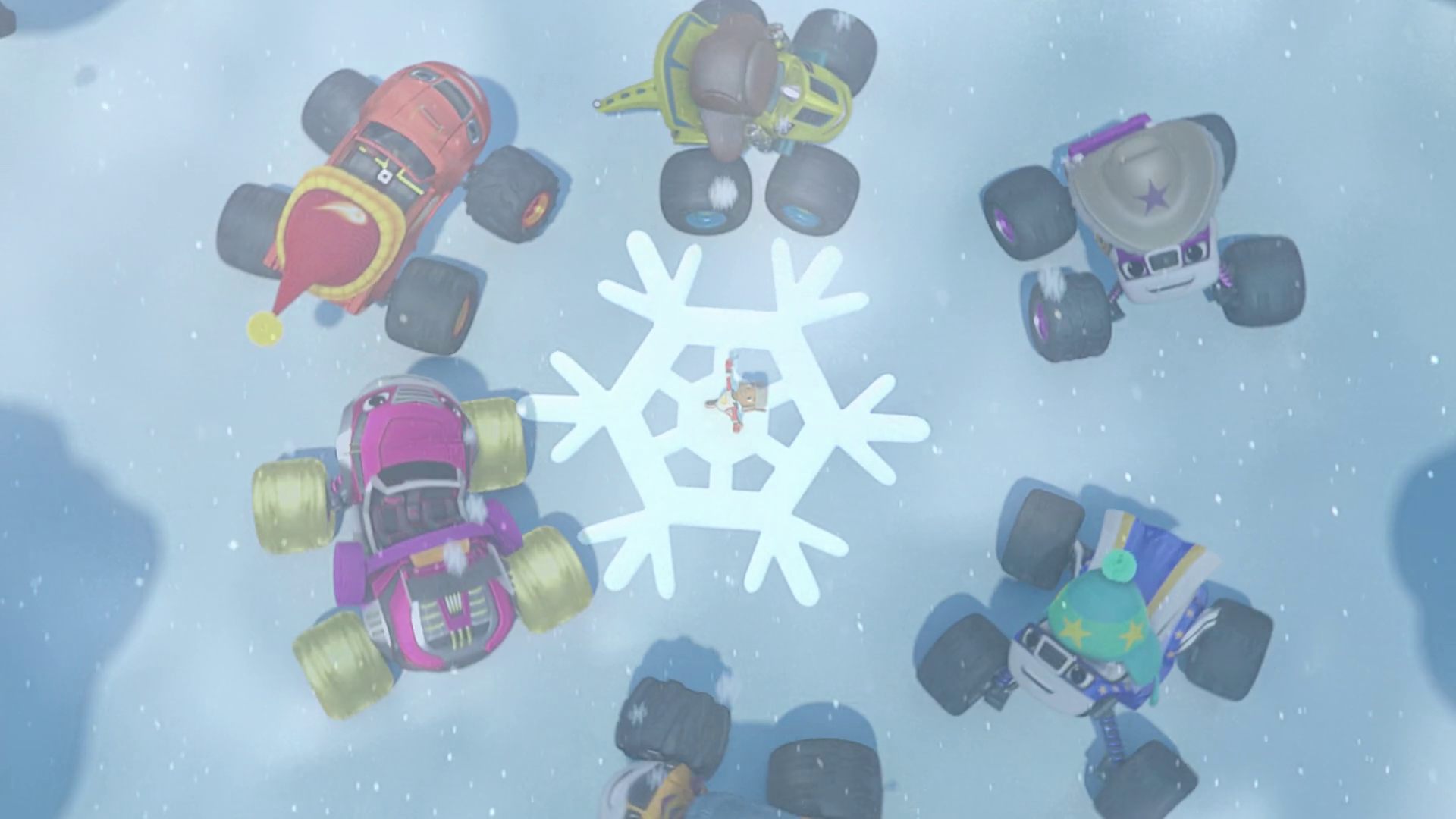 Snowflakes Blaze And The Monster Machines Wiki Fandom Powered By Wikia