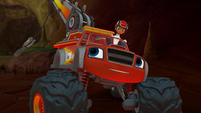 """S4E2 Blaze """"Let's use my tow truck cable"""""""