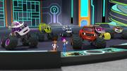 S4E9 Monster Machines cheer for Commander Megan