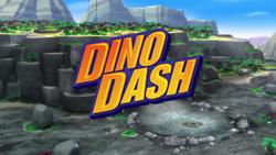Dino Dash title card