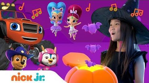 Halloween Lyric Music Video w PAW Patrol, Rusty Rivets, Shimmer & Shine & More! 🎃 Nick Jr.