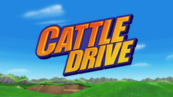 Cattle Drive title card