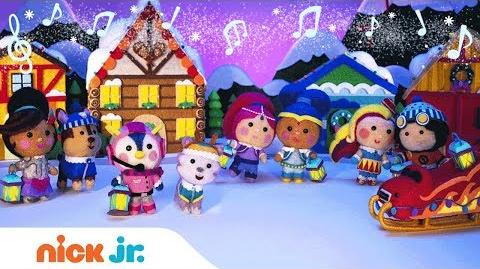 'Snow Much Fun' ❄️ Holiday Music Video w PAW Patrol, Blaze, Shimmer & More! Nick Jr. Holiday Song