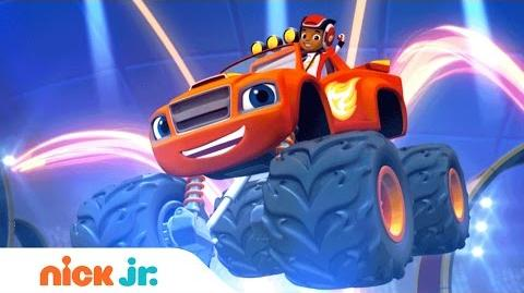 Blaze and the Monster Machines Official Theme Song Nick Jr