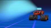S4E4 Blaze projecting the robot model
