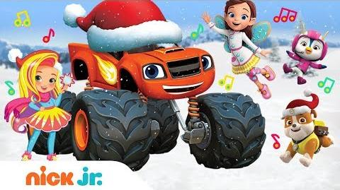 Snow Much Fun!❄️2018 Winter Song Ft. Blaze, PAW Patrol, Top Wing & More! Nick Jr.
