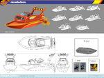 Blaze speedboat concept art