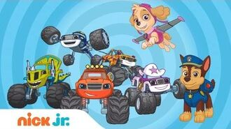 Mix It Up w PAW Patrol & Blaze and the Monster Machines Nick Jr.
