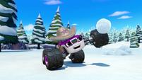 S4E12 Starla makes a snowball