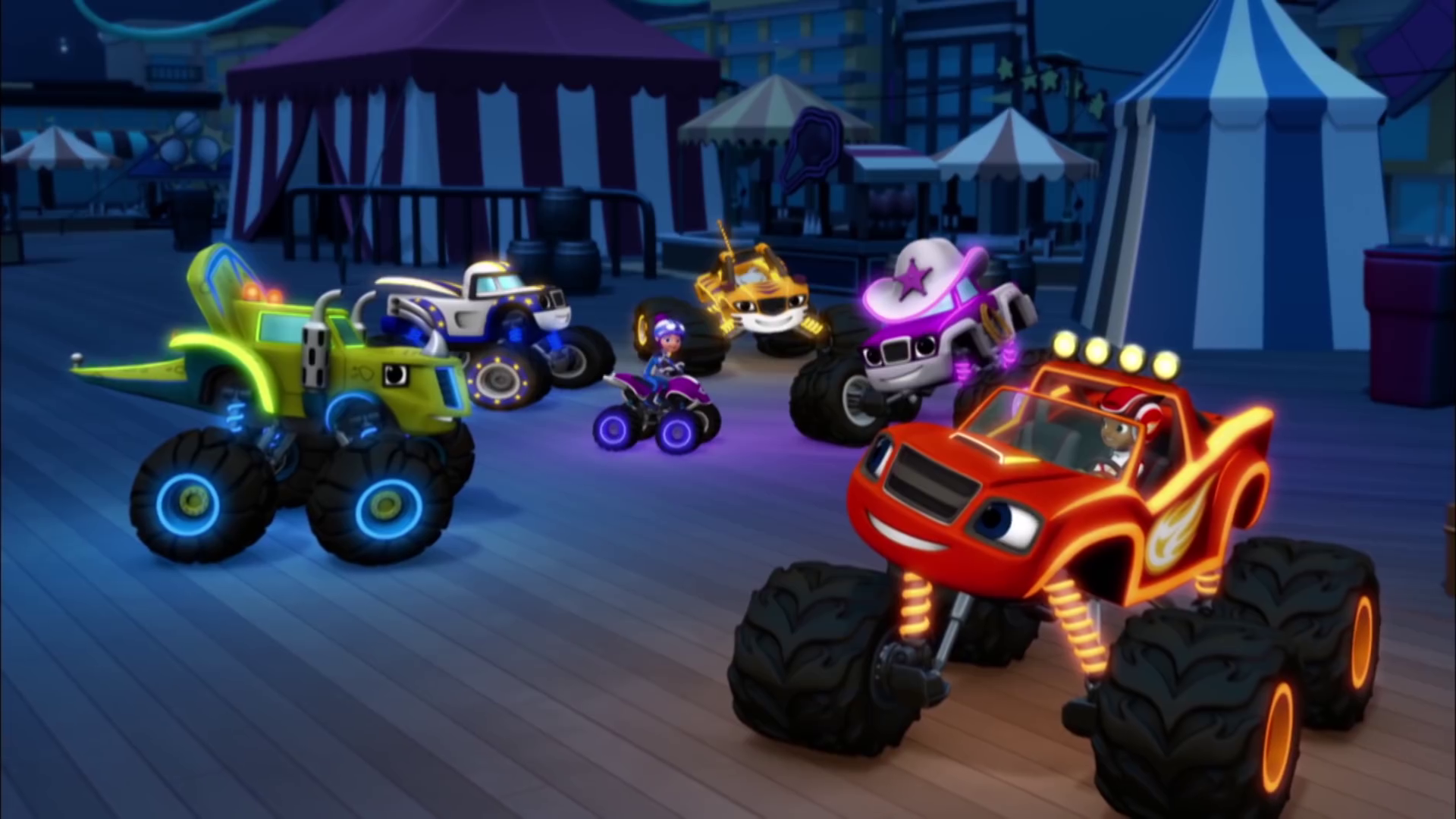 Light Riders Trivia Blaze And The Monster Machines Wiki