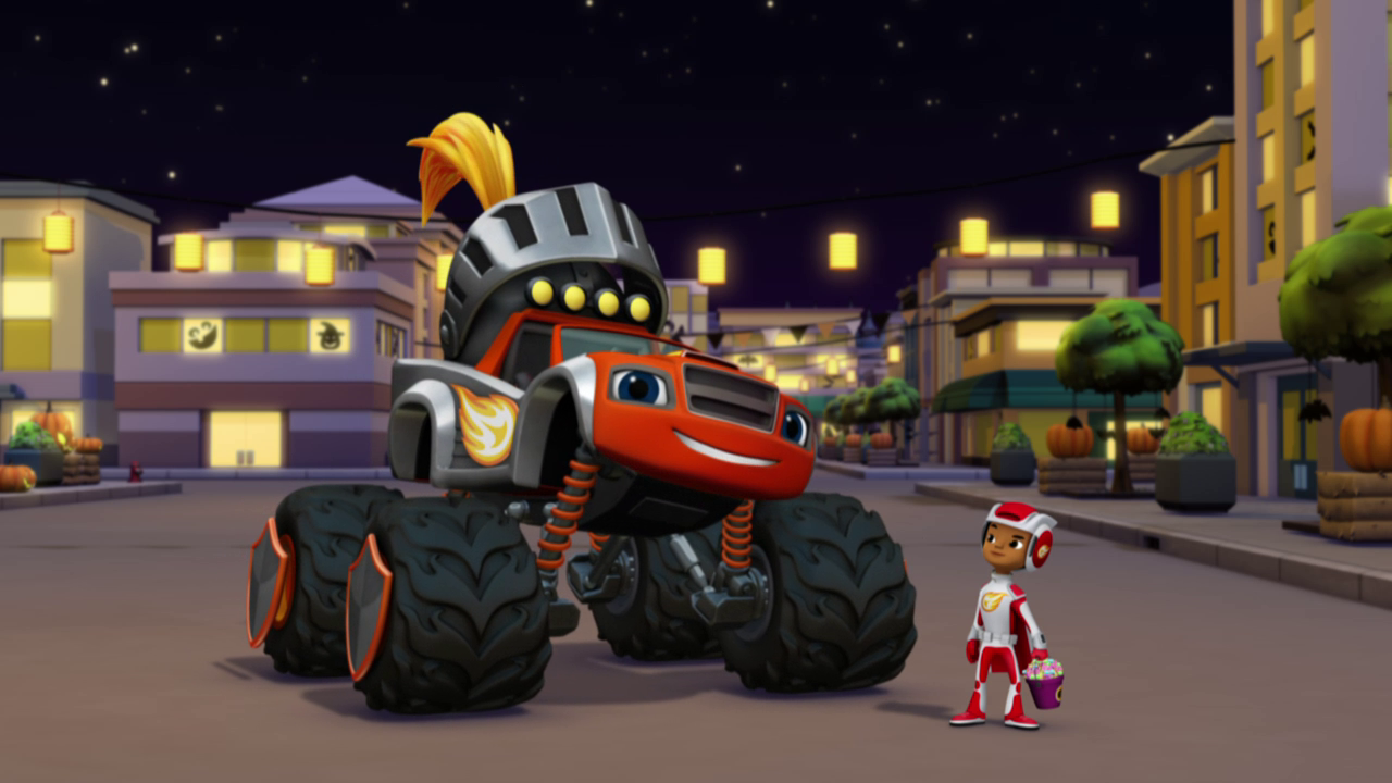 Truck Or Treat Blaze And The Monster Machines Wiki Fandom