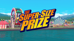 The Super-Size Prize title card