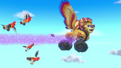 S4E15 Roarian flying with birds