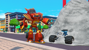 S4E4 Blaze about to free Crusher