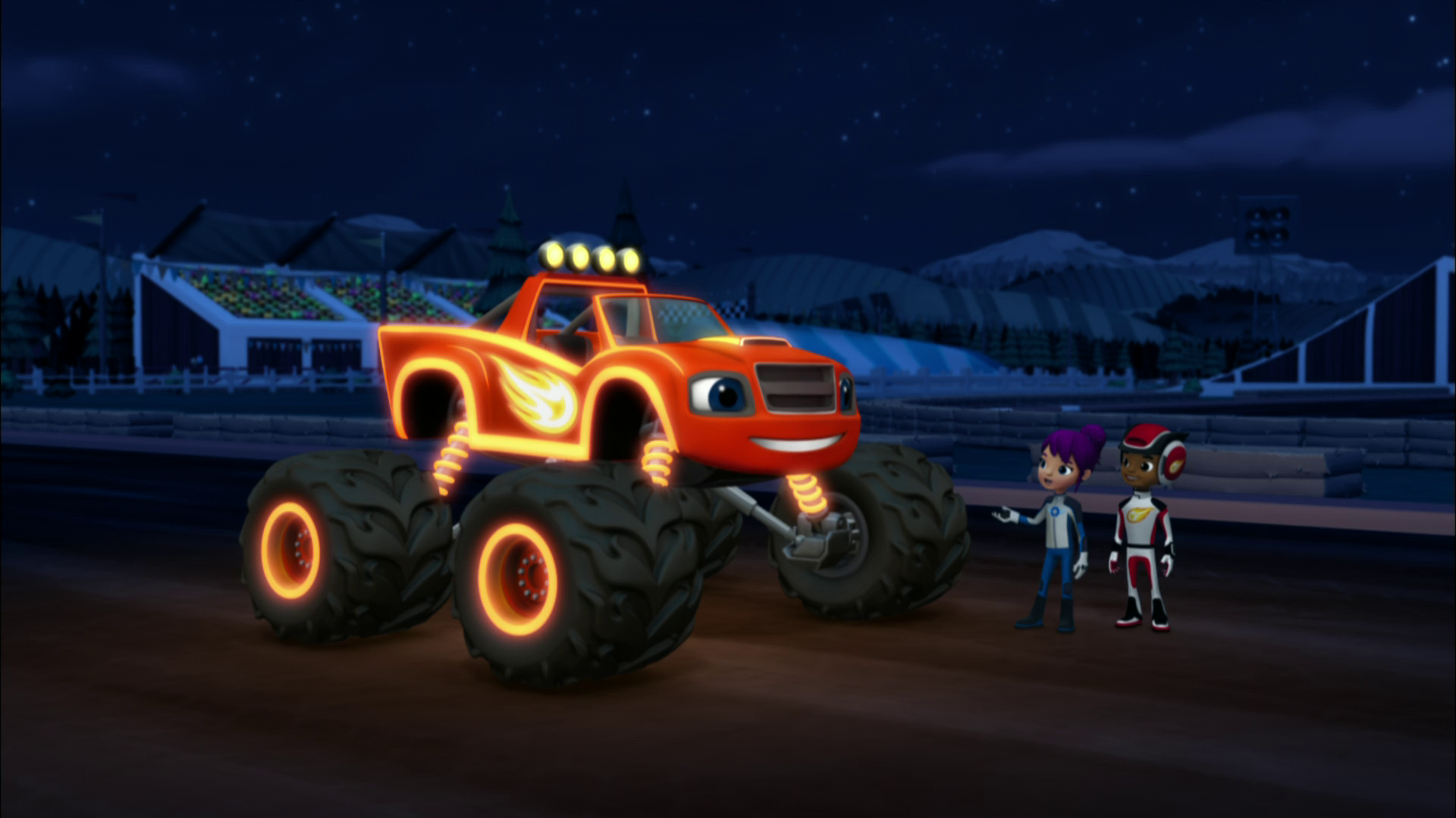 Light Riders Gallery Blaze And The Monster Machines Wiki