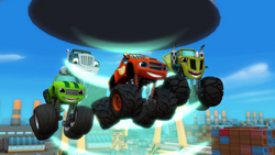 S1E12 Monster Machines caught in the magnet