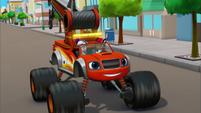S3E15 Tow Truck Blaze zooms ahead