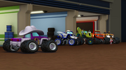 S1E3 Starla slinks over to the Monster Machines